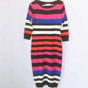 Old Navy Striped Sweater Dress - Size Medium